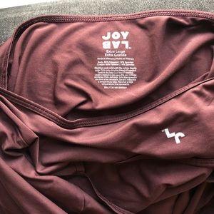 Joy Lab Tops - Joy Lab open back cutout top in plum size XL